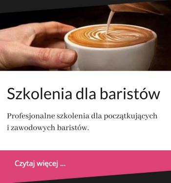 Profesjonalne szkolenia dla baristów we Wrocławiu i okolicy