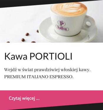 Ziarnista kawa do biur portioli