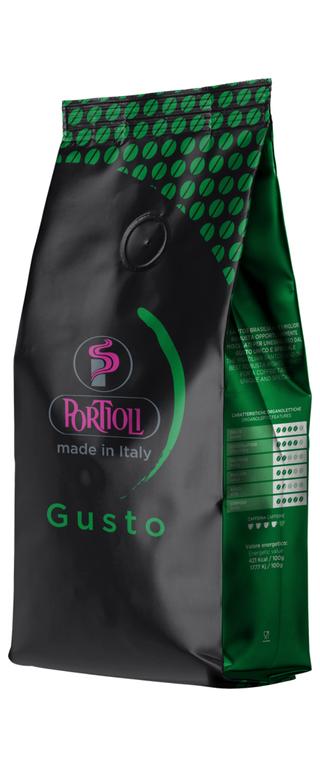 Wysokiej jakości kawa ziarnista do biur Gusto